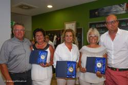 Damen Seniorinnen: Kuss Maria, Greile Silvia, Strasser Ulrike