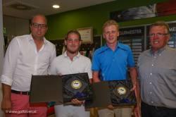 Clubmeister Herren: Marzi Fabrizio, Becker Hartmut, Gruber Johannes